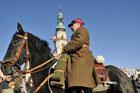 Manifestacja patriotyczna z okazji 90. rocznicy odzyskania przez Polskę niepodległości