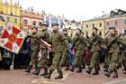 Manifestacja patriotyczna na Rynku Wielkim