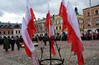 Manifestacja patriotyczna na Rynku Wielkim oraz uroczysta sesja rady miasta