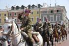 Obchodów Święta Wojska Polskiego w dniu 15 sierpnia na Rynku Wielkim w Zamościu