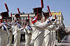 Zamojskie OBCHODY ROCZNICY UCHWALENIA KONSTYTUCJI 3 MAJA- manifestacja patriotyczna na Rynku Wielkim