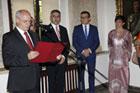 JE Ambasador Armenii w Polsce Edgar Ghazaryan odwiedził Zamość - spotkał się z prezydentem Andrzejem Wnukiem, zwiedził