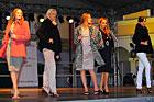 Pokazy mody włoskiej na Rynku Wielkim w Zamościu. II Festiwal Kultury Włoskiej