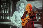 Koncert Jennifer Batten - najlepszej gitarzystki świata (wg magazynu Guitar Player) na Rynku Wielkim w Zamościu