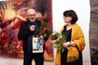 Otwarcie wystawy Alicji Kowalskiej (tkanina) i Donata Kowalskiego (malarstwo) w BWA