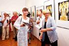 Wystawa poplenerowa XXXI Międzynarodowego Pleneru Ilustratorów, podczas którego artyści plastyki próbowali zobrazować poezję księdza Twardowskiego