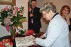 Benefis poetki Marii Duławskiej w Sali koncertowej Muzeum Zamojskiego