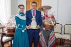 Prezydent Zamościa gościł światowy folklor