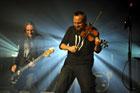 Koncert mazurskiej grupy HUNTER w kazamacie Bastionu 7 w ramach Ichoriady 2014