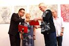 Wernisaż wystawy Marka Jaromskiego