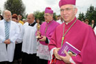 Uroczystości wprowadzone do kaplicy Wojewódzkiego Szpitala w Zamościu relikwii bł. Jana Pawła II, patrona szpitala