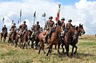 Obchody 90. rocznicy bitwy pod Komarowem z udziałem formacji kawalerii ochotniczej. Wolica Śniatycka 29 sierpnia 2010