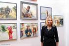 Otwarcie wystawy malarstwa Krystyny Kopciowskiej