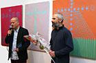 Wernisa� wystawy malarstwa Macieja S�czawy w BWA