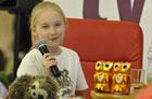 Nela, najmłodsza reporterka, opowiadała młodym zamościanom o swoich podróżach