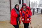 I Zimowy Rajd Nordic Walking w Nieliszu
