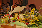 Prezentacja stołów i potraw wielkanocnych w Hotelu Orbis