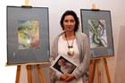Wernisaż wystawy Jadwigi Skotnickiej w galerii zamojskiego Klubu Batalionowego dedykowanej pamięci Stanisława Pyry-Piro