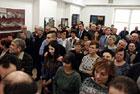 Wernisaż wystawy malarstwa Anny Tkaczyk w GOK  Gminy Zamość w Wysokiem