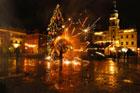 Fireshow w wykonaniu  Teatru Ognia