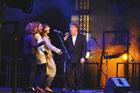 Koncert piosenki aktorskiej w wykonaniu student�w Szko�y Aktorskiej Haliny i Jana Machulskich w ramach 39. Zamojskiego Lata Teatralnego